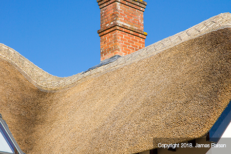 james raisen thatched roof detail